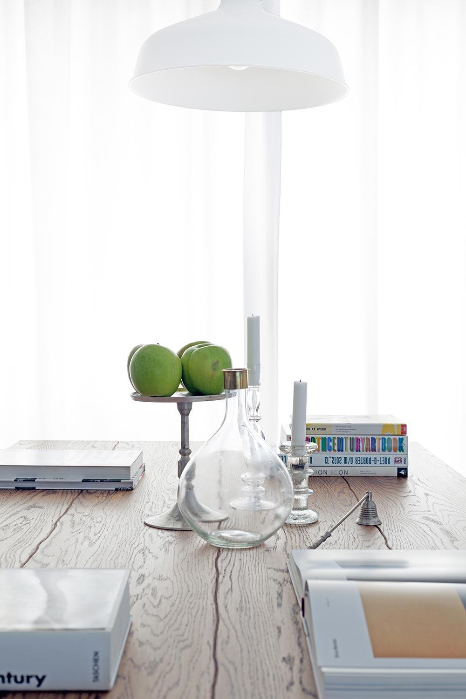 dekoracja stołu w stylu skandynawskim